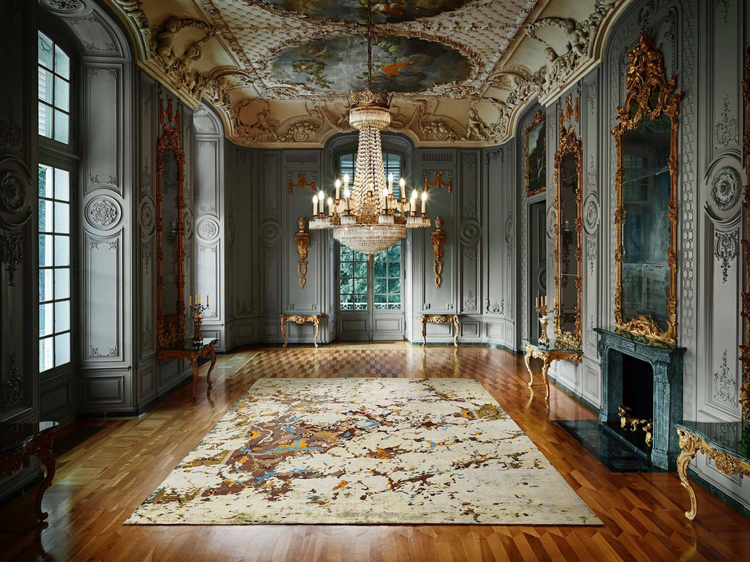 Jan Kath Designer Teppich in Palais